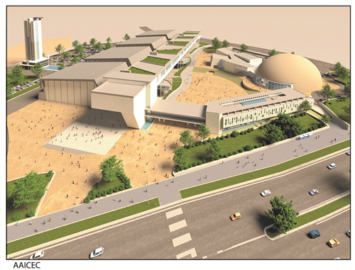 The company signed a contract for the design of the Yadis International Conference and Exhibition Center project